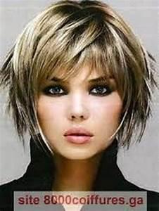 Coupe De Cheveux Femme Visage Rond Cheveux Epais : coiffure pour visage ovale femme ~ Nature-et-papiers.com Idées de Décoration