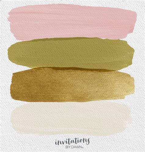 the perfect palette blush olive gold and ecru decor
