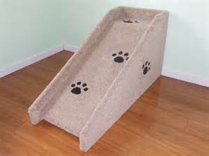 Carpeted Dog Stairs 20 quot high pet ramp dog ramp all carpeted with 4 quot high