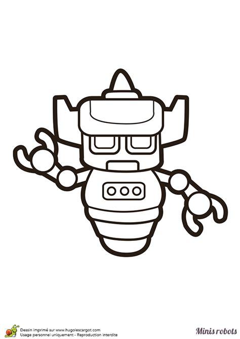 coloriage dun mini robot qui ressemble au celebre dessin