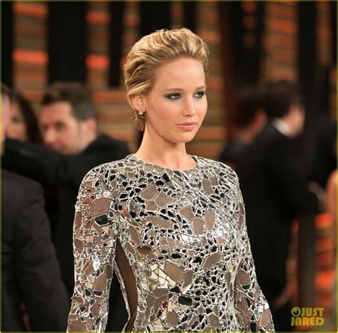 Jennifer Lawrence Vanity Fair Oscars Party 2014 Photo