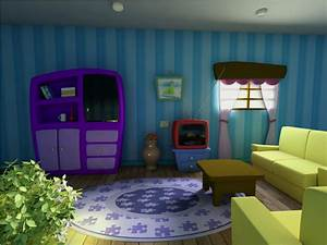 Cartoon Scene - Living Room by DiogoEspindola on DeviantArt