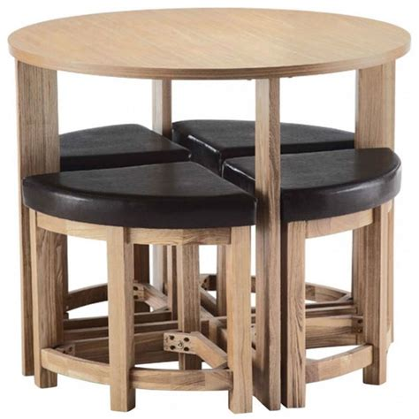 space saving kitchen table  chairs  social informer