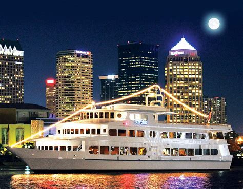 Rock The Boat Yacht Cruise by Ta Dinner Cruise Lets You Rock Around The Yacht Tbo
