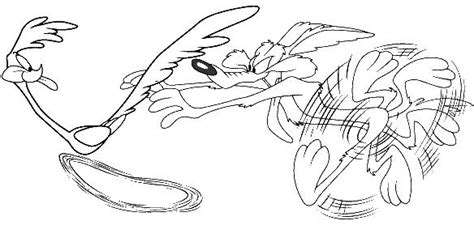 roadrunner  coyote  coloring pages coloring pages