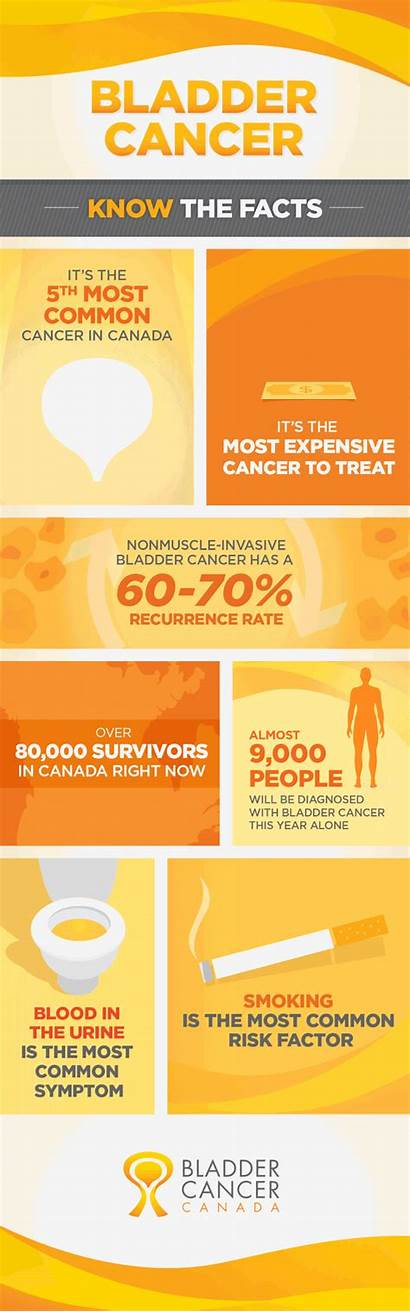 Bladder Cancer Urine Blood Facts Common Canada
