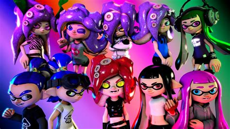 if my characters had voices sfm splatoon