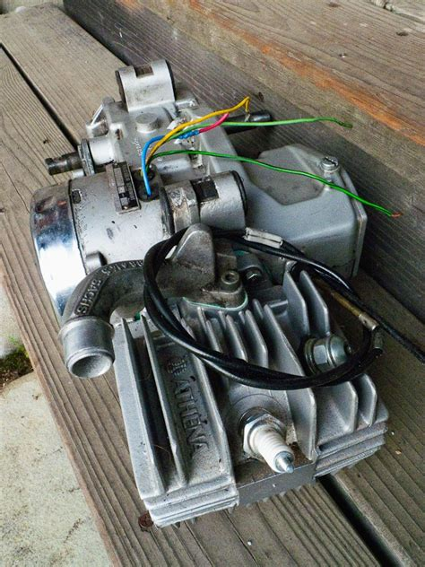 fs sachs 505 1d with 70 athena kit moped army