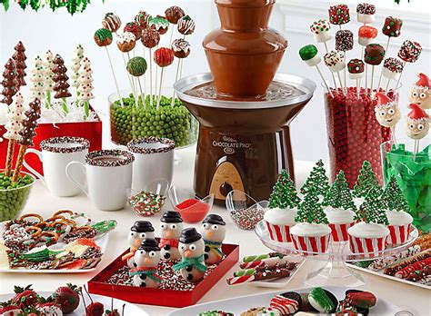 Dip & Drizzle Christmas Treat Ideas  Party City