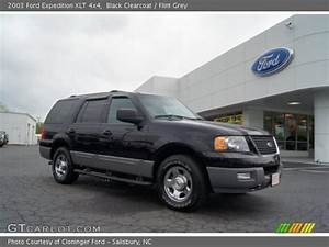Black Clearcoat - 2003 Ford Expedition Xlt 4x4 - Flint Grey Interior