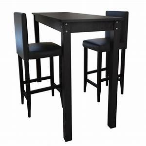 Bartisch Mit Barhocker : der bartisch mit 2 barhocker essgruppe design schwarz online shop ~ Yasmunasinghe.com Haus und Dekorationen