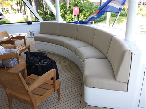 Boat Lounge Cushions by Cushions Modern Yacht Canvas