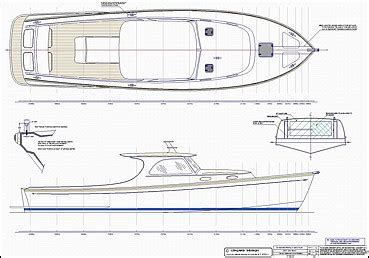 Sport Fishing Boat Blueprints by Stock Monohull And Multihull Boat Plans By Lidgard Yacht