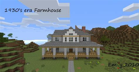 country home minecraft project
