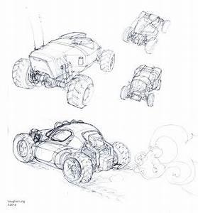 v ling sketches With jaguar racing green