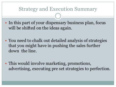 free dispensary business plan template write business plan