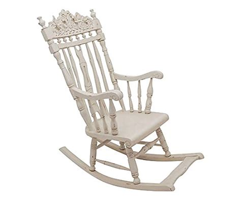 chaise a bascule blanche chaise à bascule blanche