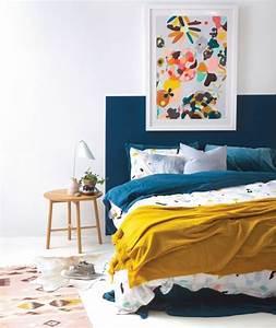 tapis jaune et bleu idees de decoration interieure With tapis jaune avec lit superposé avec canapé ikea