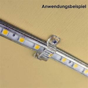 Led Strips Befestigen : 10er pack befestigungsclip f r 230v led stripes ~ A.2002-acura-tl-radio.info Haus und Dekorationen
