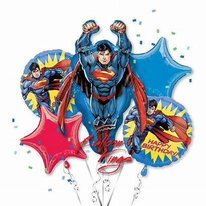 Superman Bouquet Birthday Balloon Superhero Kings