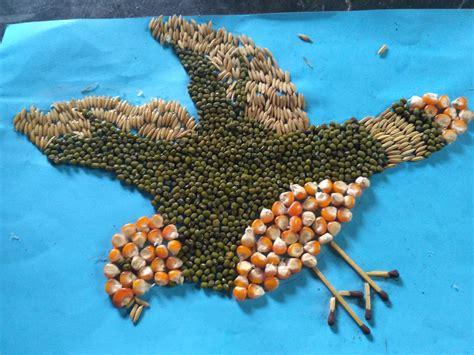 Gambar pola hewan 3 dimensi. Praktek Membuat Mozaik Biji-Bijian - TBM BINTANG BRILLIANT