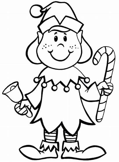 Elf Shelf Coloring Pages Printable