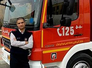 TEHRAN FIREFIGHTER DIES WHILE ATTEMPTING TO SAVE THE LIFE ...