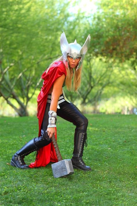 Female Thor Cosplay By Toni Darling Aipt