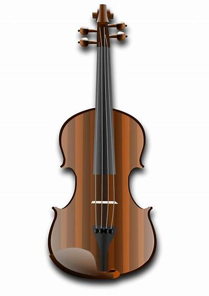 Violin Clip Clipart Vector Playing Transparent Guru