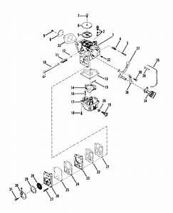 Mercury Marine 18 Hp Carburetor Assembly Parts