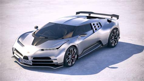 The car is an homage to the bugatti eb110 and a celebration of the bugatti marque's 110th birthday. Bugatti Centodieci 2020