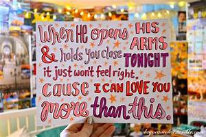 Evinosa's Zone: More Than This - One Direction (Lyrics)