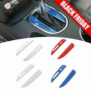 For Ford Mustang 2015-2018 Interior Gear Shift Strips Dashboard Trim Accessories | eBay