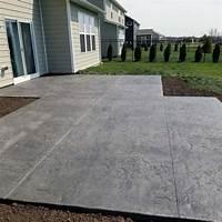 great concrete slab patio design ideas Top 50 Best Stamped Concrete Patio Ideas - Outdoor Space Designs