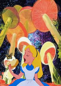 Tumblr Trippy Alice in Wonderland | gif trippy psychedelic ...