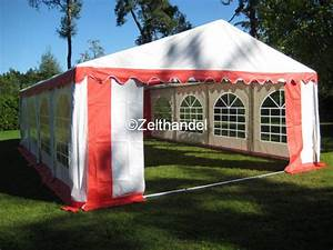 Pvc Boden Rot : partyzelt 6x8m pvc rot wei mit boden und dachverstrebung ~ Eleganceandgraceweddings.com Haus und Dekorationen