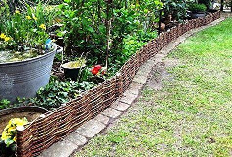 Palisaden Aus Holz Eine Alternative Zur Steinmauer by Beeteinfassung System 10x Profil 100x20cm Palisade