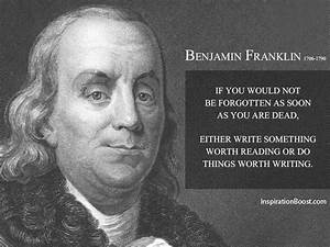 2014 August | I... Ben Franklin Memorable Quotes