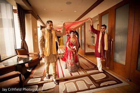 Ceremony In Chicago, Il Indian Wedding By Jay Crihfield