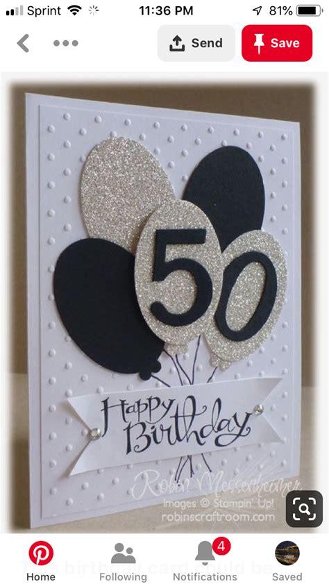 50th birthday cards by Gloria Kaufmann on Cards Birthday