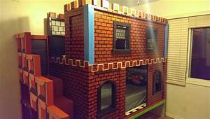Ana White Mario Castle Bunk - DIY Projects