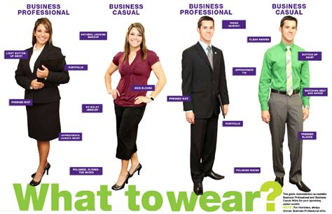 what to wear business casual vs business professional