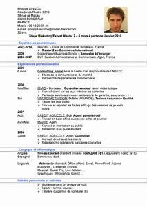 Titulaire Du Permis B : exemple cv etudiant ecole de commerce cv anonyme ~ Medecine-chirurgie-esthetiques.com Avis de Voitures