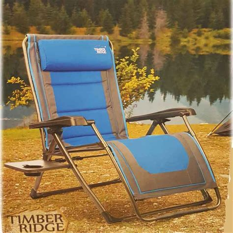 Timber Ridge Folding Lounge Chair by Timber Ridge C Lounger Timber Ridge Zero Gravity Chair