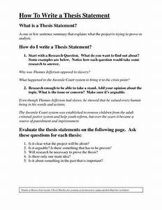How To Make Thesis Introduction Sleep Deprivation Essay Tips On How  How To Make An Thesis Introduction Argument Essay Topic Ideas