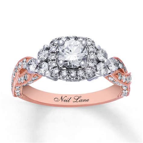 Neil Lane Engagement Ring 158 Cttw Diamonds 14k Twotone. Gasket Rings. Soft Wedding Rings. Apatite Gemstone. Infinity Wedding Band. Platinum Ring Diamond. New Gold Chains. Plastic Bracelet. Double Ball Stud Earrings