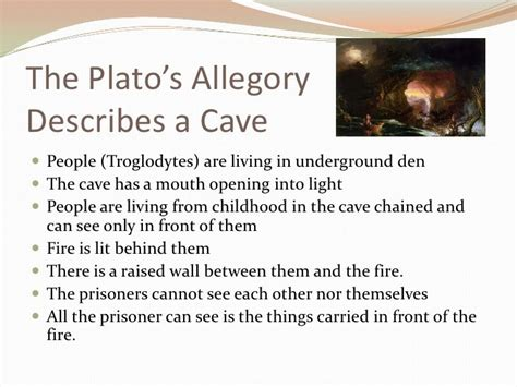 Allegory Of The Cave  Google Search  School Pinterest