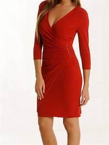 robe cache coeur portefeuille strass noir ou rouge With robes portefeuille cache coeur