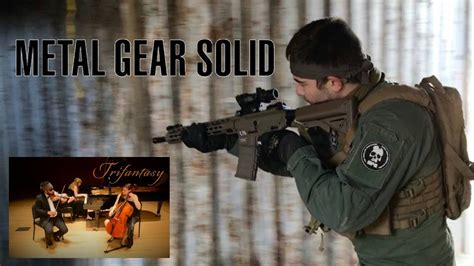 Metal Gear Solid Sons Of Liberty Trifantasy Youtube