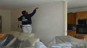 Devis Peinture Plafond : devis peinture toile de verre pose de fibre murale au plafond ~ Dode.kayakingforconservation.com Idées de Décoration